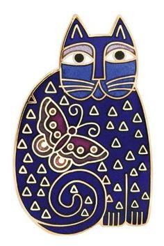 Cat blue gato Azul