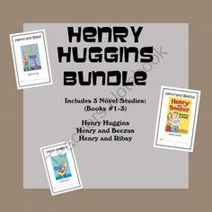 Henry Huggins Bundle (Beverly Cleary) 3 Novel Studies Books #1-3 ...