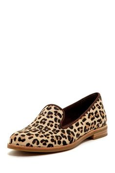 Sperry Top-Sider Pennington Leopard Pony Hair Loafer by Sperry Top-Sider on @HauteLook