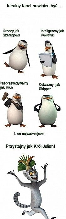 Very Funny Memes, Wtf Funny, Funny Jokes, Polish Memes, Penguins Of Madagascar, Weekend Humor, Pictures Of People, Disney Memes, Cute Couples Goals