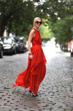 Summer Dresses (Street Style) (35)