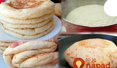 Kefírky: Výborná náhrada chlebíka z Ruska, nemusíte ani zapínať rúru – na panvici sa takto úžasne nafúknu! Toasted Ravioli, Pizza Cake, Food Tags, Healthy Grilling, Kefir, Baking Recipes, Bakery, Good Food, Food And Drink