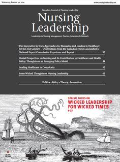 Nursing Leadership Vol. 27.4 Longwoods.com