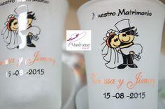 Vasitos pisqueros. Boda-Wedding-15 años-Baby Estamos en Lima-Perú