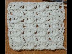 Tutorial punto virgolette all'uncinetto - crochet stitch