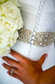 Belt + button detailing: Liza Emanuele. Wedding Inspiration, Wedding Photography, Belt, Weddings, Bride, Button, Wedding Shot, Belts, Bodas
