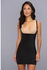 NWT SPANX Slimplicity OPEN BUST BODYSUIT SLIP Med Your own bra ADJ Straps Panty