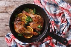 Iron Pan, Food To Make, Bacon, Chicken, Recipes, Recipies, Ripped Recipes, Recipe, Cooking Recipes