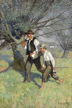 The Call of Spring, N. C. Wyeth (1882 – 1945)