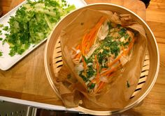 Dampet laks [Deilig! Ny favorittilberedning av fisk!]
