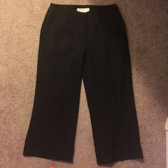 Selling this sale MK  size2P- black cropped pants in my Poshmark closet! My username is: lori3015. #shopmycloset #poshmark #fashion #shopping #style #forsale #Michael Kors #Pants