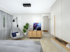 PROJEKT SYPIALNI online Mebloscenka Beds, Design, Bedding, Bed