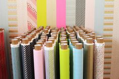 XL Washi tape by MT CASA -- decorate walls with it, non-permanent #wallpaper!
