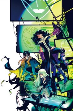 Batgirl And The Birds of Prey #4 : Variant - Kamome Shirahama
