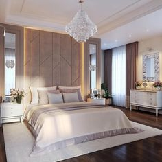 Modern Luxury Bedroom, Master Bedroom Interior, Luxury Bedroom Design, Room Design Bedroom, Bedroom Furniture Design, Room Ideas Bedroom, Home Room Design, Luxurious Bedrooms, Home Decor Bedroom
