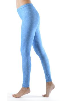 Buy this amazing Baby Blue Denim Print Ankle Leggings for your Memorial Day Weekend- Fashion Outlet NYC