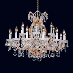 22 Light maresa theresa crystal Chandelie  light crystal drop chandelier affordable chandelierC9080 86cm W x 90cm H