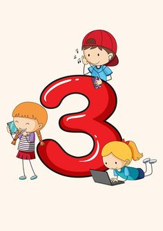 Numbers Preschool, Learning Numbers, Math Numbers, Preschool Math, Kindergarten Math, Sunday School Crafts For Kids, Math For Kids, Kids Math Worksheets, Preschool Activities