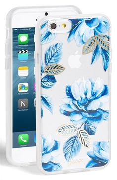 Sonix 'Indigo Floral' iPhone 6 & 6s Case available at #Nordstrom