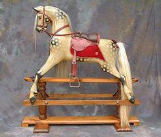 J & G Lines replica rocking horse