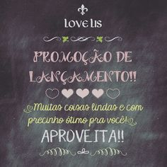 Corre pra Love Lis! Instagram: @love.lis