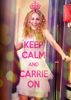 Love Sarah Jessica Parker as Carrie in Sex & the City! Sarah Jessica Parker, Carrie Bradshaw, Pretty Things, Wonderful Things, Rick Ross, Thats The Way, Keep Calm, Stay Calm, Make Me Smile