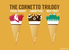 The Cornetto Trilogy by Ryan O'Hara.