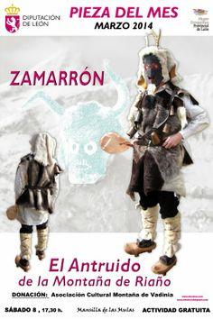 """""""ZAMARRÓN"""". El Antruido de la Montaña de Riaño."""