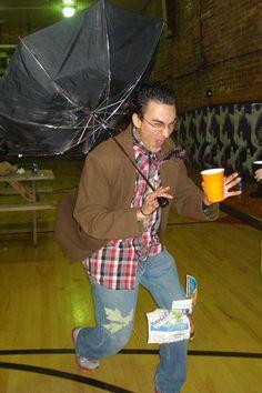 Halloween costume inspired by hurricane Sandy