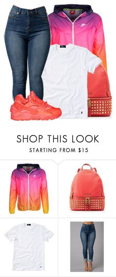 """Jacquees- B.E.D."" by tanishacain ❤ liked on Polyvore featuring NIKE, MICHAEL Michael Kors and Polo Ralph Lauren"