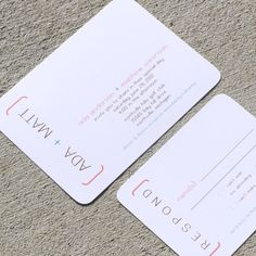 Modern Wedding Invitation  Ada Sample Set by StelieDesigns on Etsy, $5.00