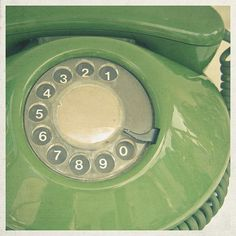 Green Northern Electric Donut Phone.