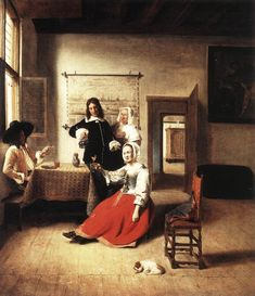 ConSentido Propio: Spinoziana (2) - GALERÍA: Pintando la atmósfera: Pieter Janssens & Pieter de Hooch