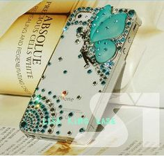 I found 'Bling butterfly angle rhinestone  iphone 4 case cover iphone 5 case iphone 5 cover' on Wish, check it out!