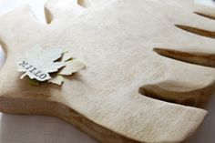 Wooden Leaf Board by Millo SA [Wooden Gifts & Decor] Wooden Gifts, Boards, Leaves, Plants, Decor, Planks, Wood Gifts, Decoration, Plant