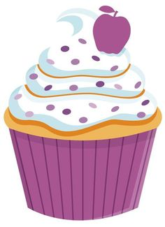 Cupcake Png, Cupcake Toppers, Cupcake Clipart, Cupcake Party, Birthday Cupcakes, Cream Candy, Kids Shop, Cupcake Drawing, Cupcake Pictures