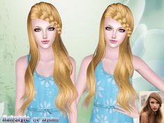 Skysims braided hair 174 - Sims 3 Downloads CC Caboodle