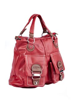 Ladies who love bags with multiple pockets will adore this two pocket shopper by Blackcherry