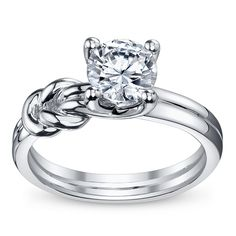 Shop the largest selection of designer engagement rings, wedding bands, and more. Browse diamond rings online and find a Robbins Brothers store near you. Designer Engagement Rings, Gold Engagement Rings, Engagement Ring Settings, Celtic Wedding Rings, Wedding Ring Bands, Wedding Jewelry, Rings Online, Ring Verlobung, Dream Ring