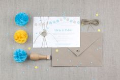 "Invitación de boda ""Verbena"""