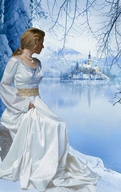The ice queen looked out at her kingdom. Fantasy Story, Fantasy Art, Romance Arte, Art Romantique, Beau Gif, Fantasy Photography, Aleta, Foto Art, Ice Queen