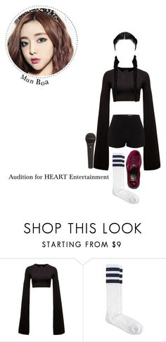 """""""Mun Boa 🌹 Audition for HEART Entertainment"""" by if-i-were-you ❤ liked on Polyvore featuring Puma, Alexander McQueen and American Apparel"""