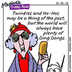 Maxine says it best