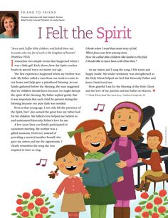 I Felt the Spirit - From an interview with Sister Linda K. Burton, Relief Society General Board President; by Linda Davies