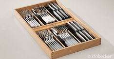Sterling Silverware Drawer Inserts, Kitchens   Handmade   Accessory  Collection | Products   Studio Becker