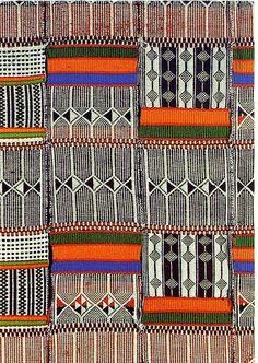theram: Unicef weaving postcard ,