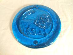 Items similar to Large Vintage Horoscope / Astrology Blue Glass Leo Sun Catcher on Etsy Sun Catcher, Horoscopes, Astrology, Unique Jewelry, Handmade Gifts, Glass, Blue, Etsy, Vintage