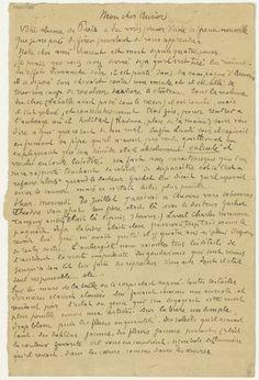 Emile Bernard aan Georges-Albert Aurier 31 juillet 1890