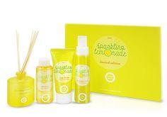 Happy Bath Sparkling Lemonade Body Limited Edition Fruit Energizing Complex #AmorePacificHappyBath