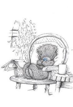 Tatty Teddy loves reading!